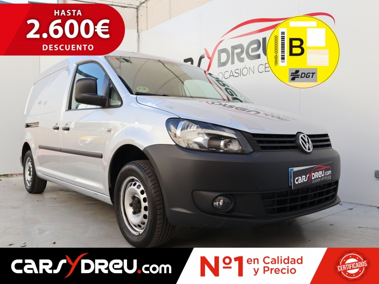 Volkswagen Caddy Maxi Furgón PRO 1.6 TDI 102CV Taller Movil